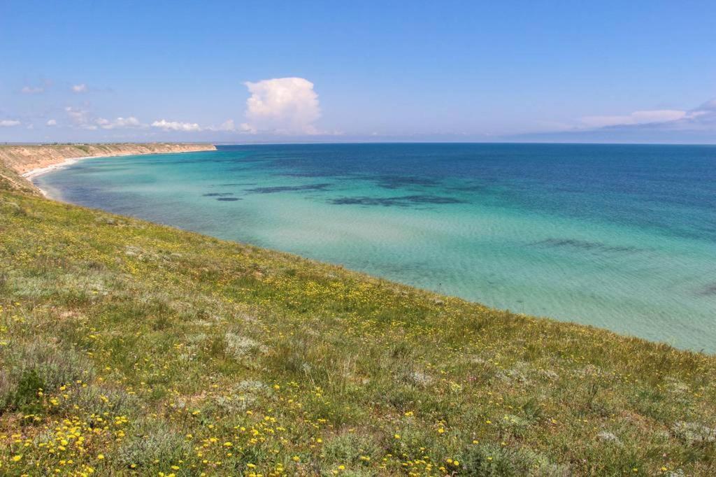 Пляж высокий берег анапа фото является