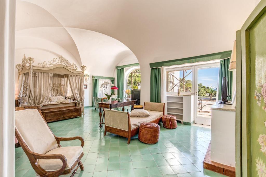 Hall o reception di Villa Calypso