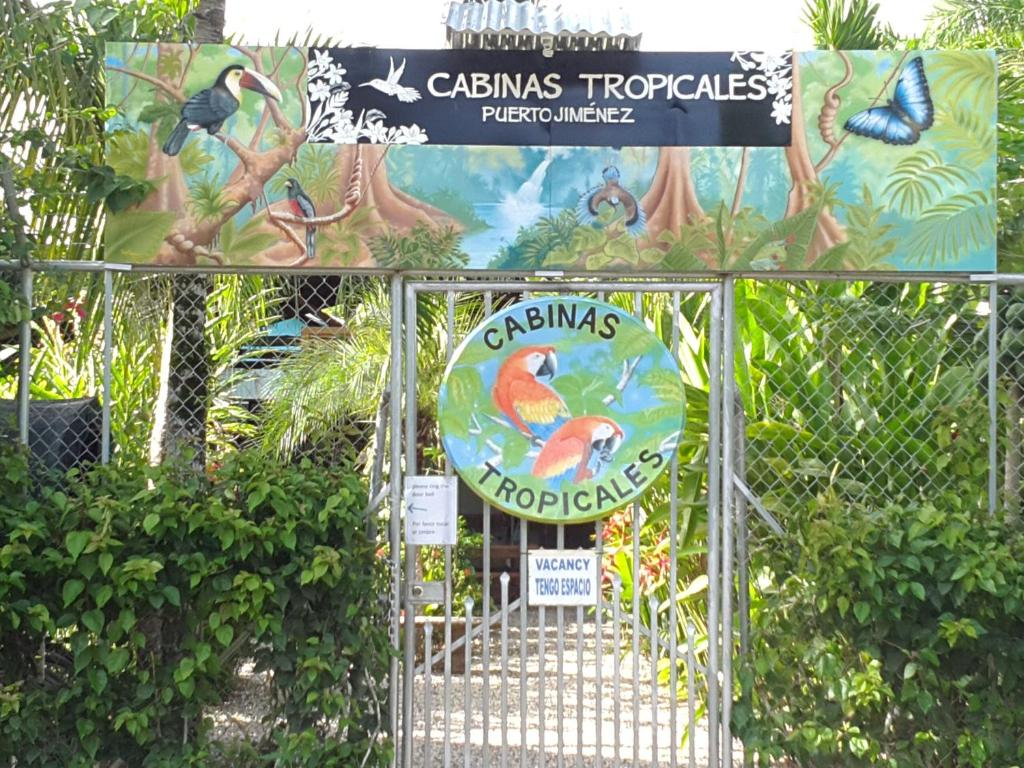 The facade or entrance of Cabinas Tropicales & Corcovado Park Boat Tours