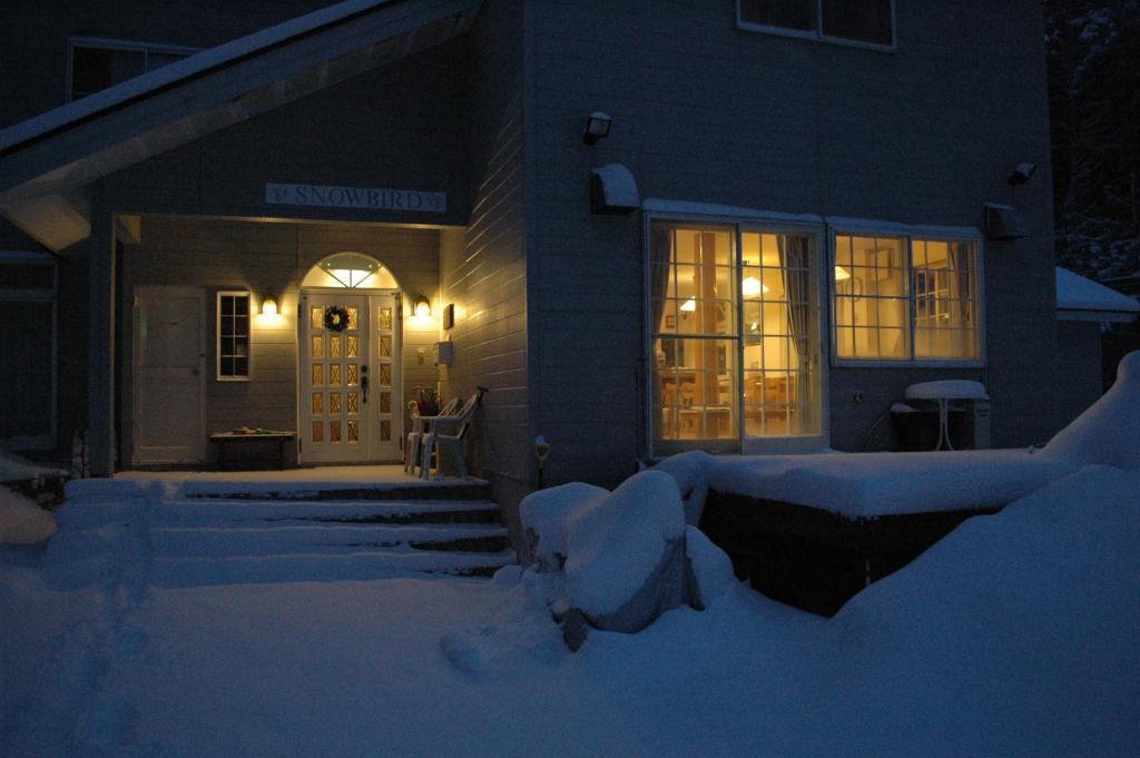 Snowbird Pension during the winter