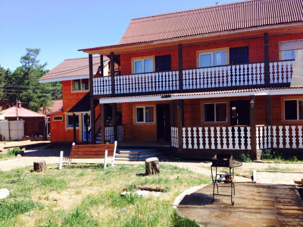 Патио или другая зона на открытом воздухе в Гостевой дом Азбука отдыха