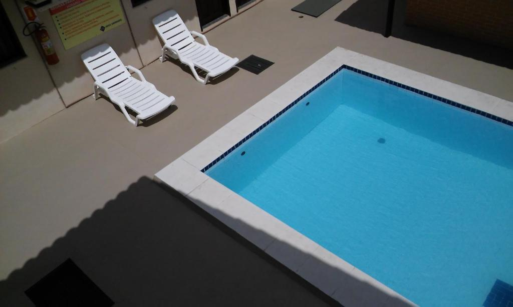The swimming pool at or near Hotel Sambaquis