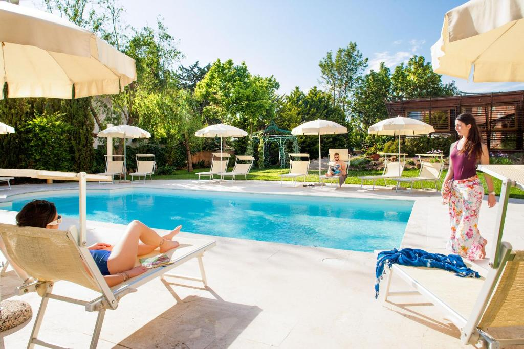 The swimming pool at or near Ostia Antica Park Hotel & Spa