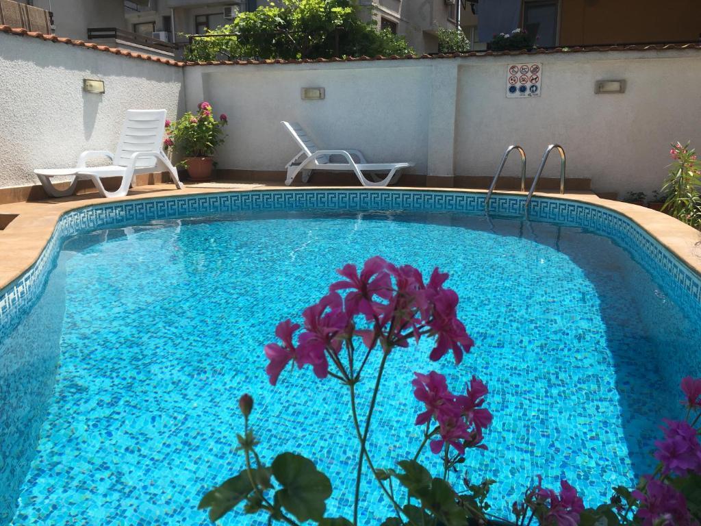The swimming pool at or near Villa Diana