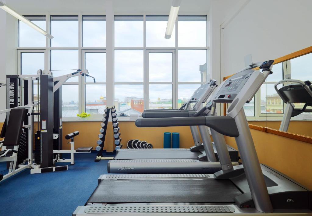 Фитнес-центр и/или тренажеры в Отель Националь, The Luxury Collection, Москва