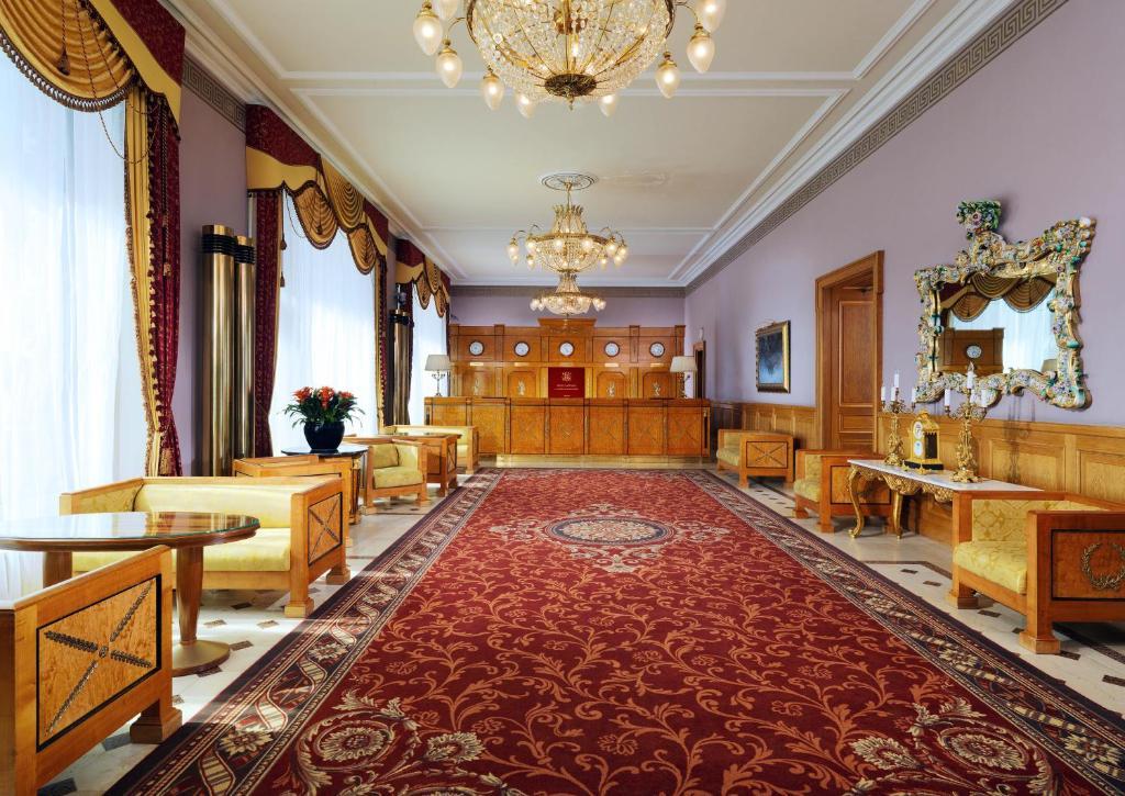 Лаундж или бар в Отель Националь, The Luxury Collection, Москва