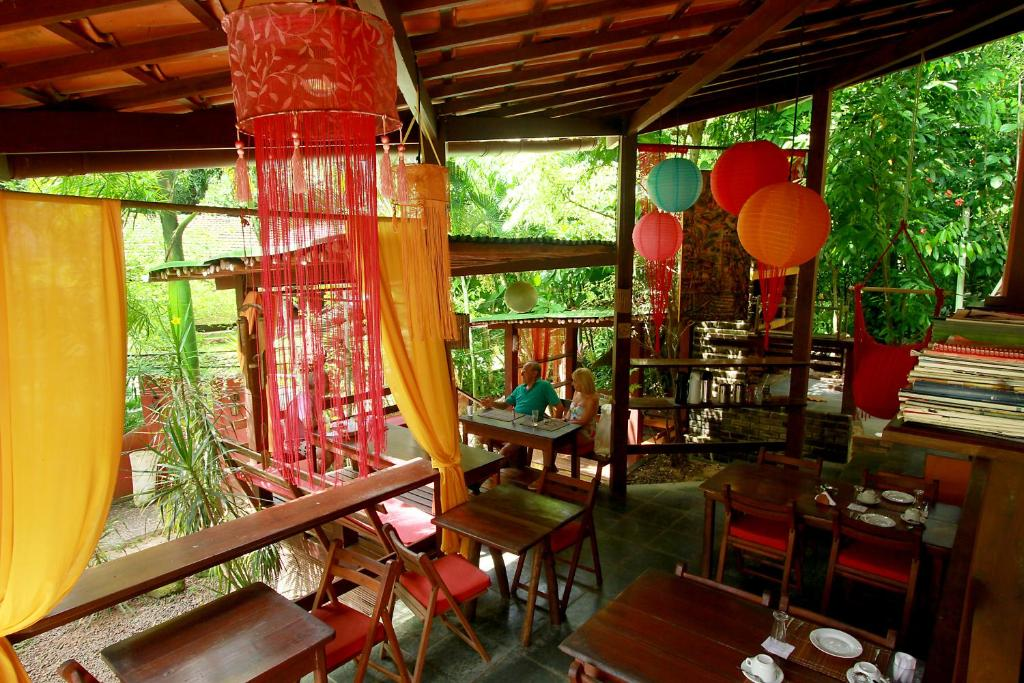 Restaurant o iba pang lugar na makakainan sa Pousada Aquarela