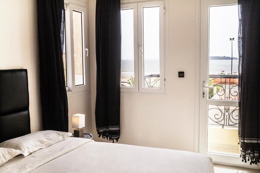 Et værelse på Résidence Louzani