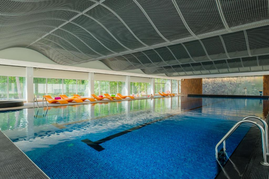 The swimming pool at or close to Lielupe Hotel SPA & Conferences by Semarah