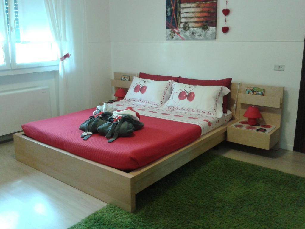 Letto o letti in una camera di B&B Casa Maddalena