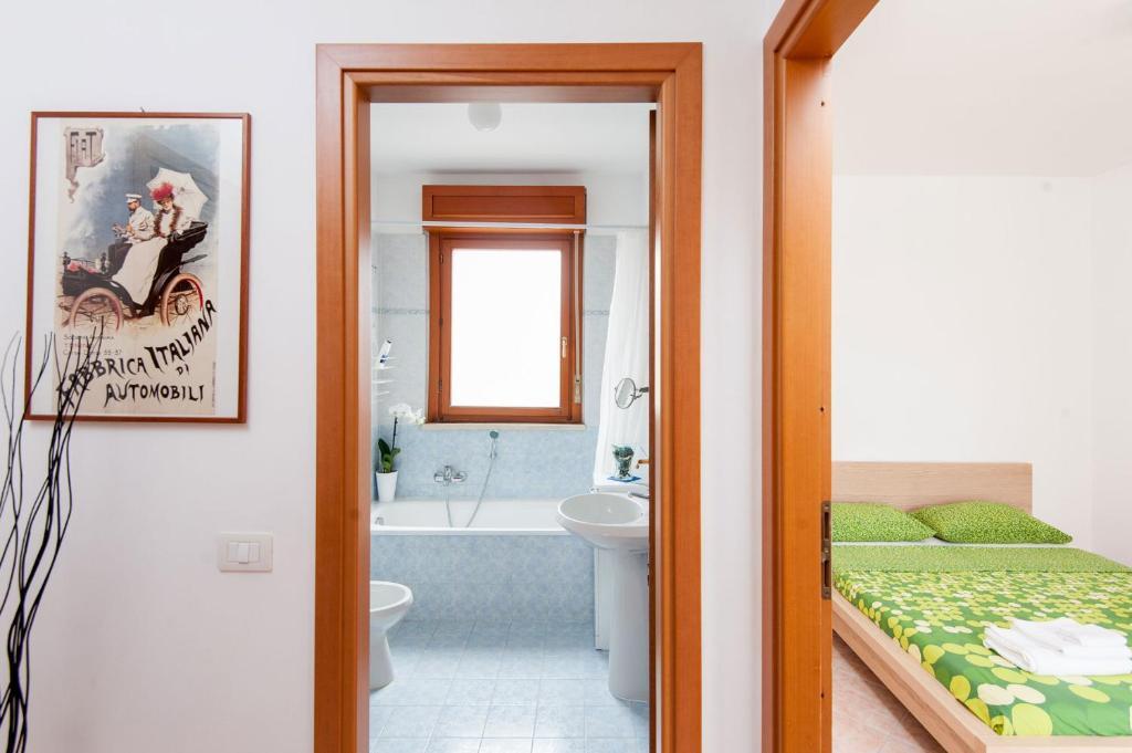 A bathroom at Domus Appia Antica