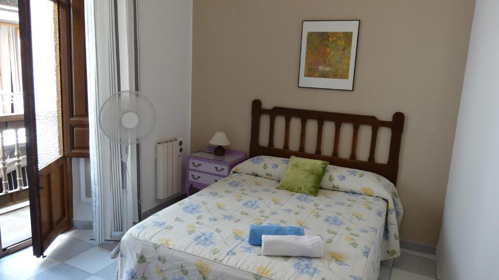 A room at Pensión Olympia