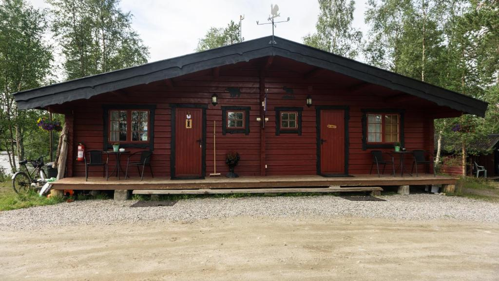 Фасад или вход в Øvre Pasvik Camping