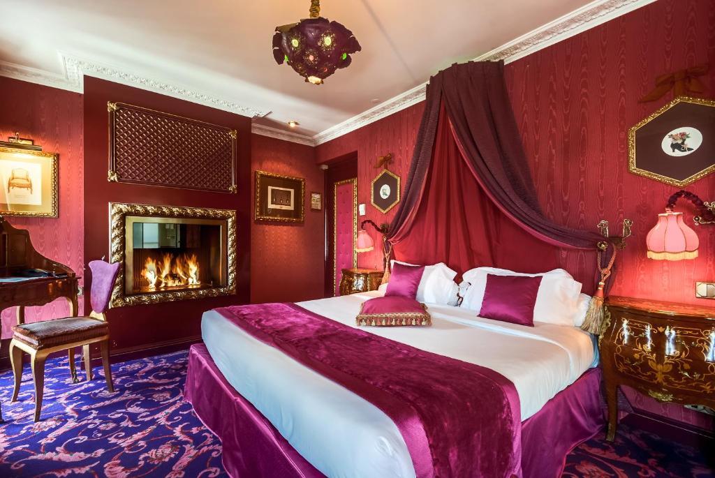 A room at La Villa Royale