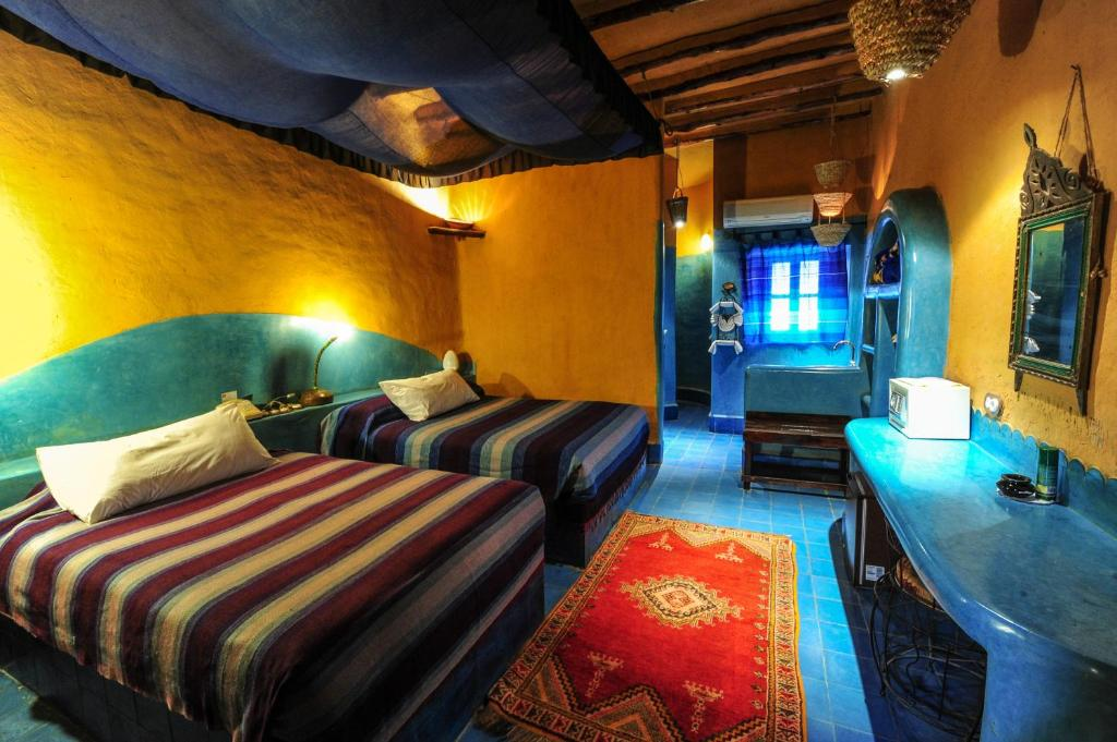 Lounge oder Bar in der Unterkunft Kasbah Hotel Tombouctou