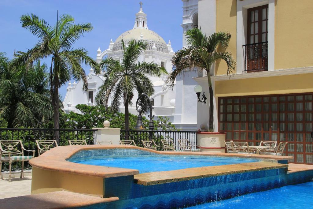 Gran Hotel Diligencias Veracruz Mexico Booking Com