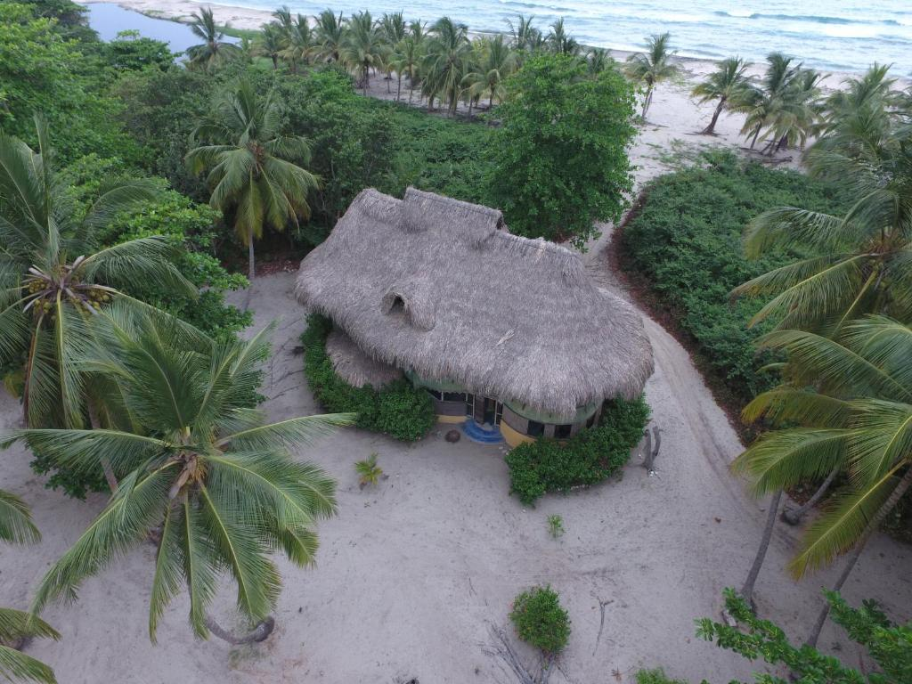 Vue panoramique sur l'établissement Playa Bonita Ecohabs