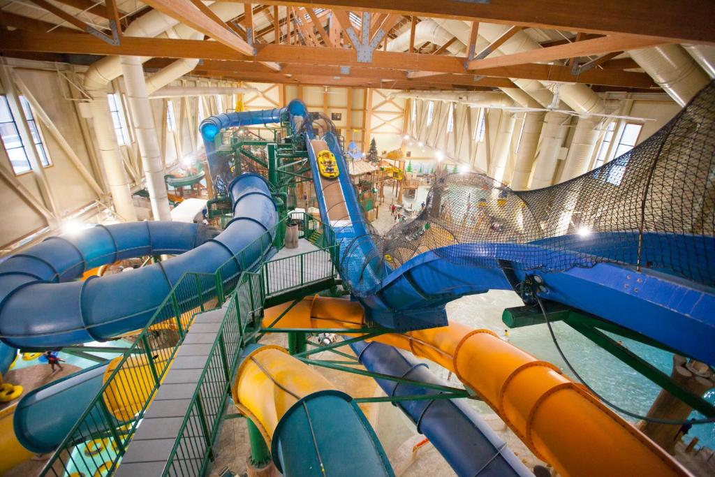 Children's play area at Great Wolf Lodge Poconos