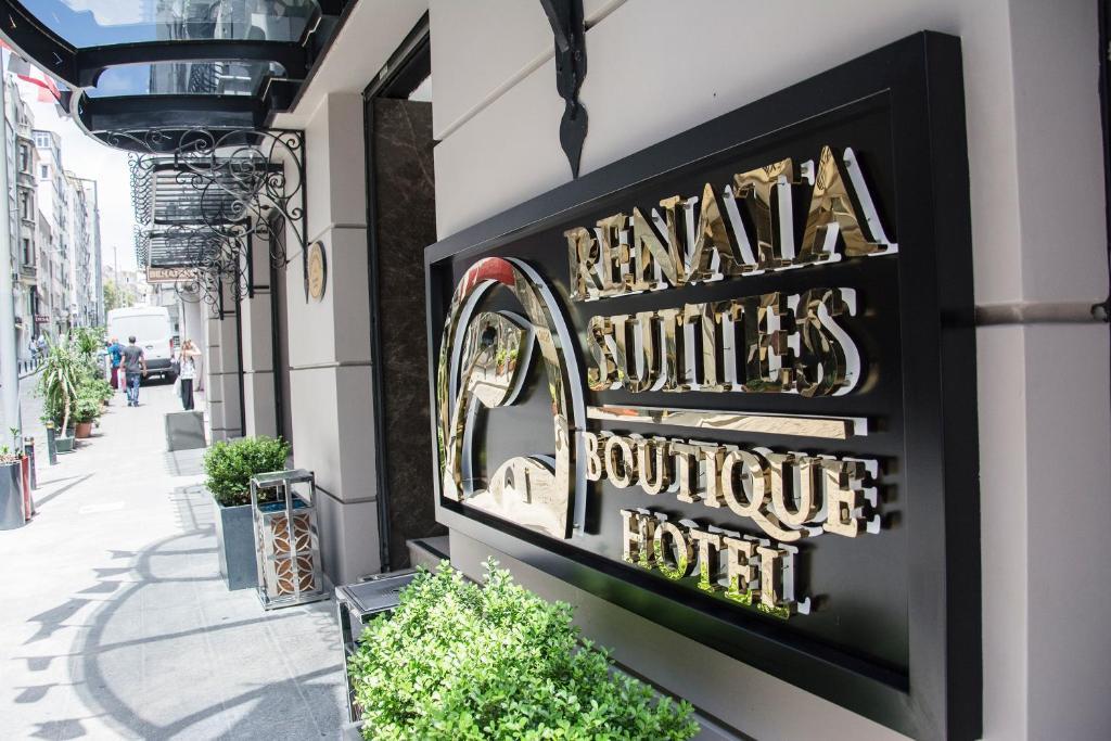Фасад или вход в Renata Boutique Hotel Sisli
