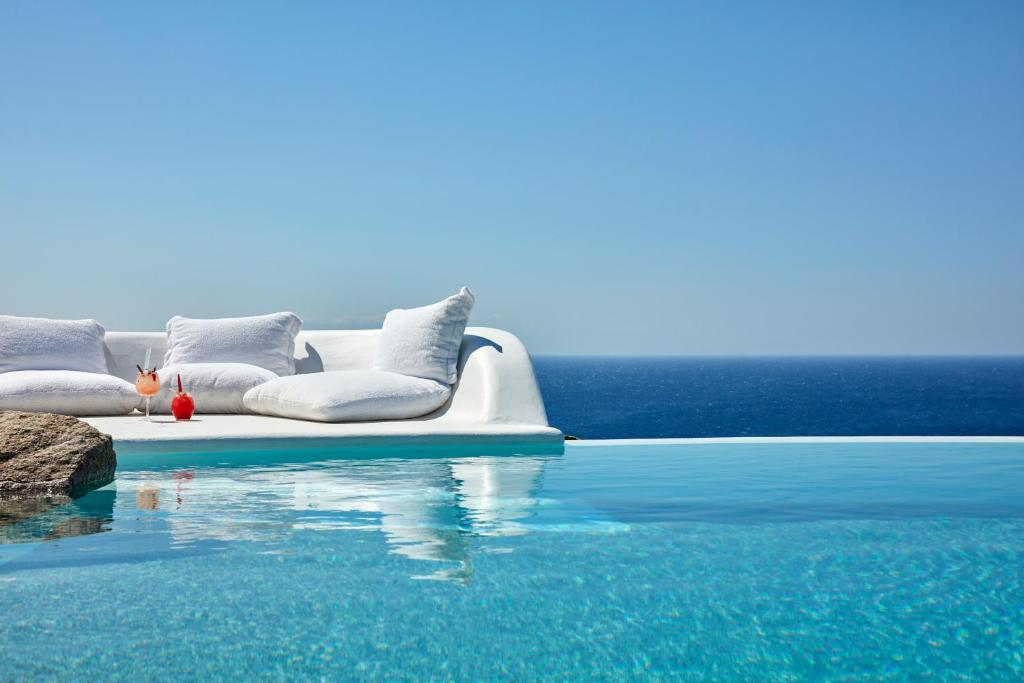 The swimming pool at or near My Mykonos Retreat