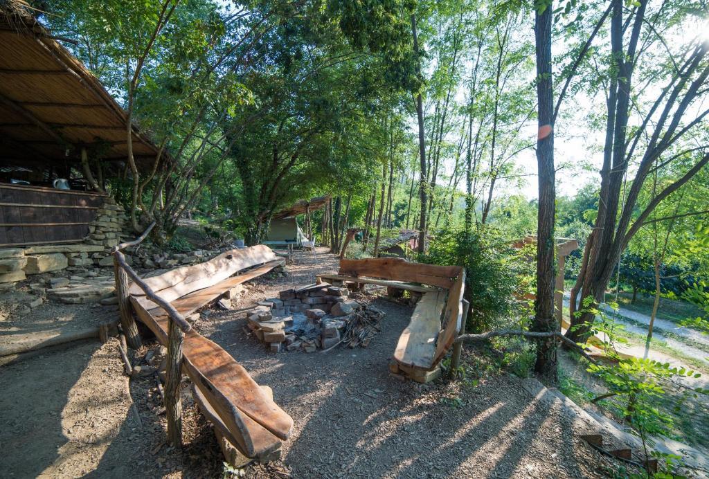 A garden outside Adrenaline Check Kaki Event Place