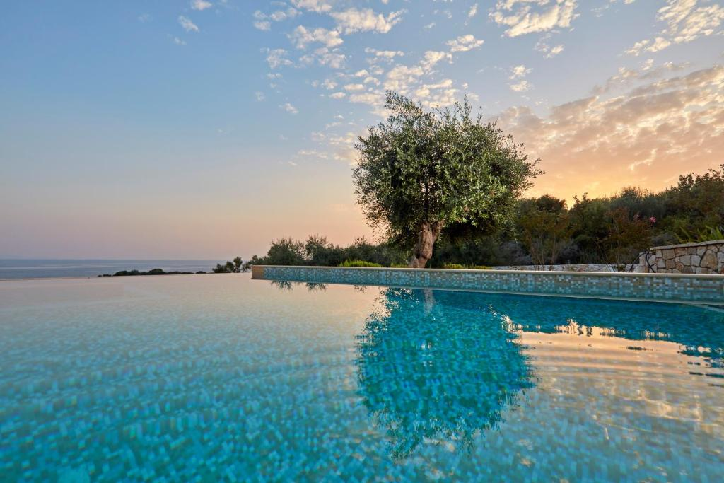 The swimming pool at or close to Sivota Seascape