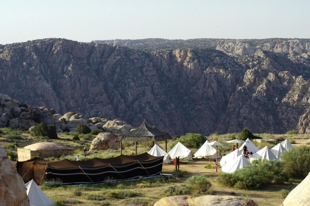 Die Umgebung um der Campingplatz