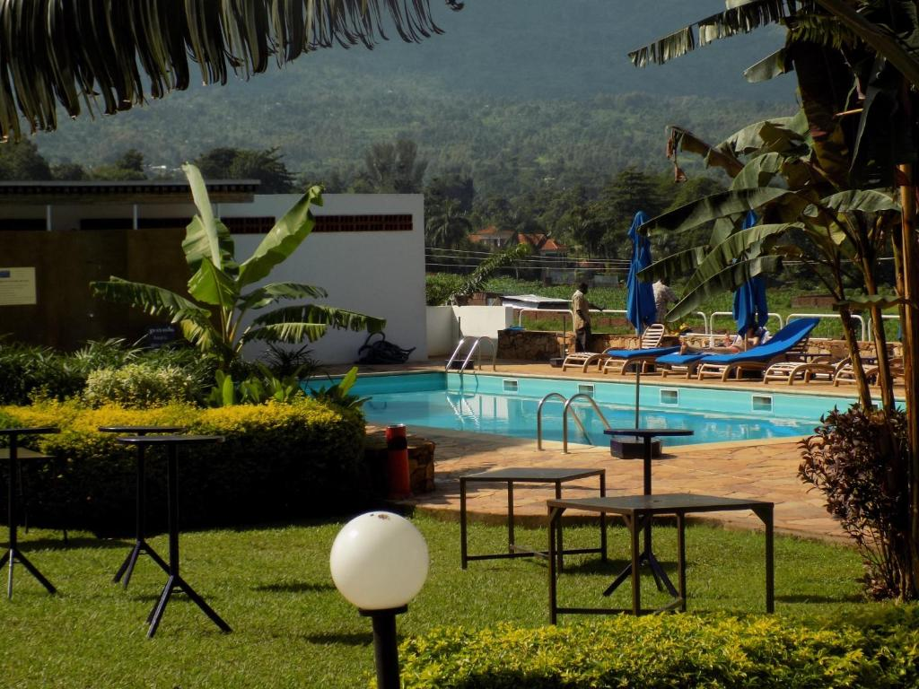 The swimming pool at or near Mount Elgon Hotel & Spa