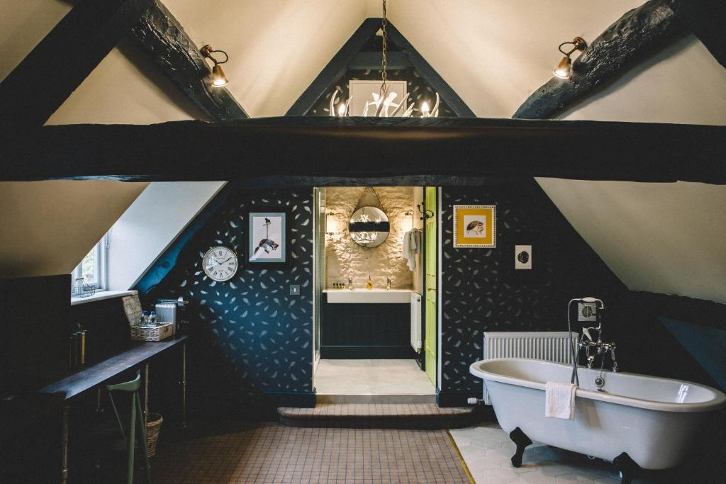 A bathroom at The Stag at Stow
