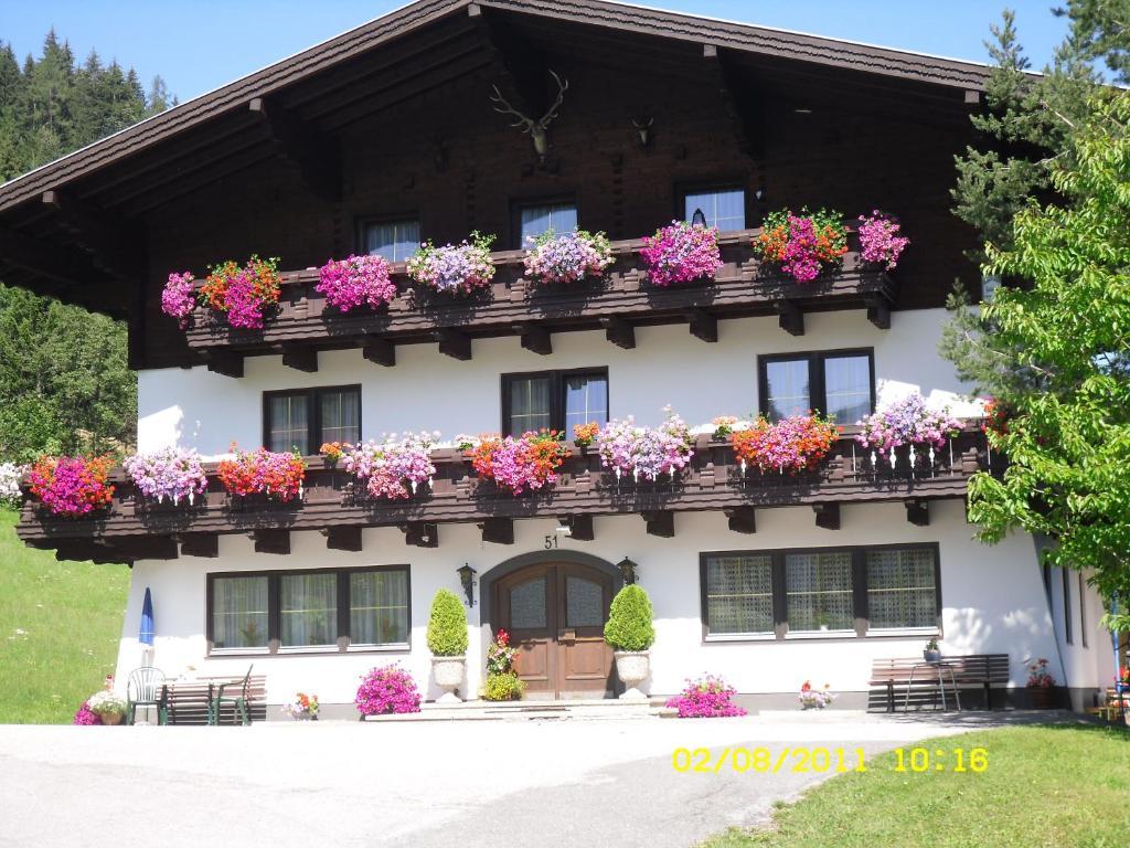 The facade or entrance of Vorderwiesgut