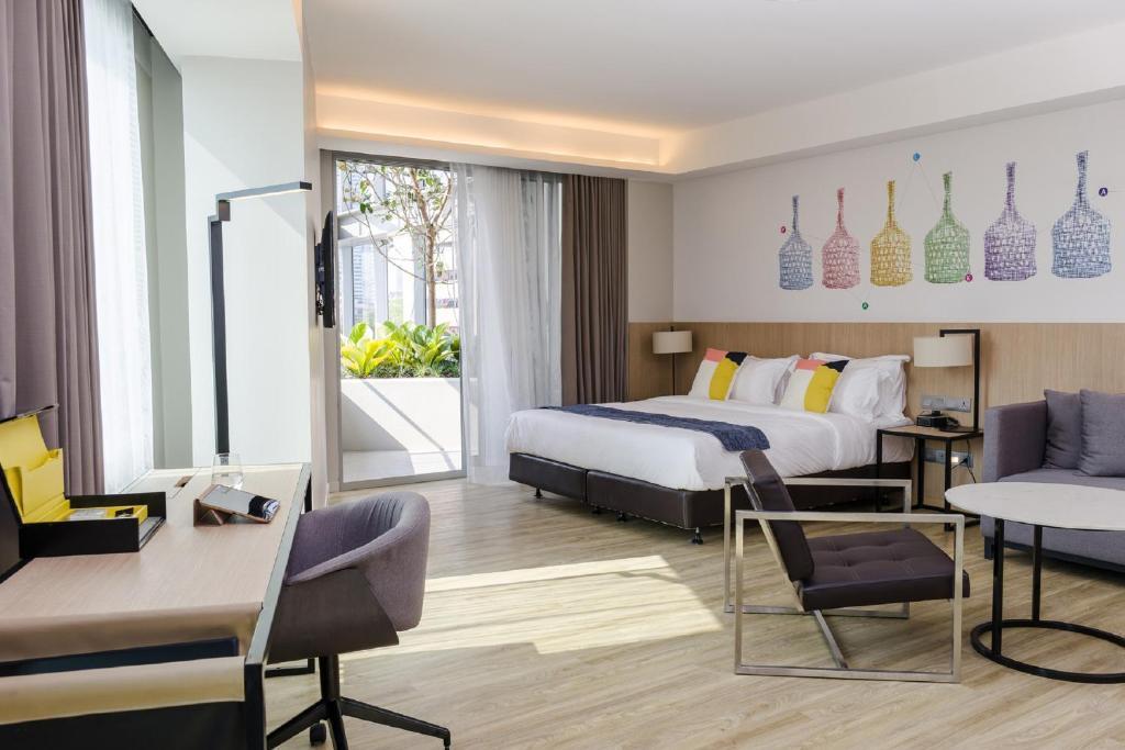A room at Modena by Fraser Bangkok