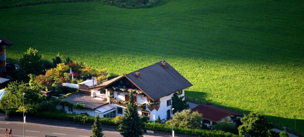 A bird's-eye view of Haus Tirolerland