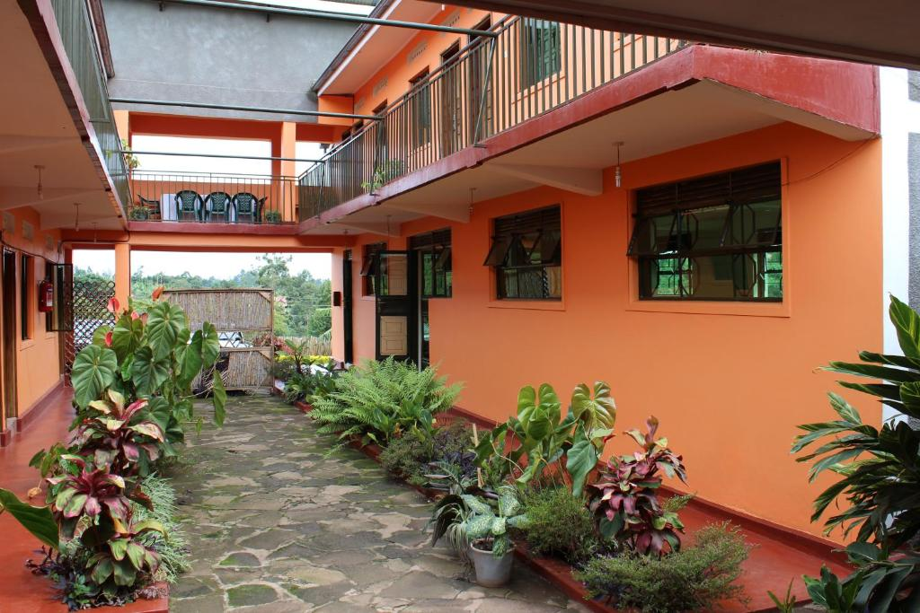 A patio or other outdoor area at Westend Motel