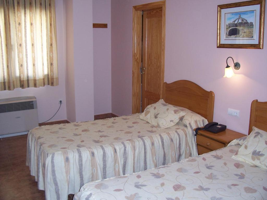 A room at Hotel Mesón el Castillo