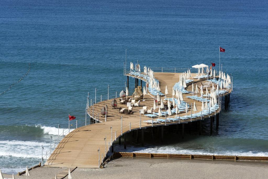 Asia Beach Resort & Spa Hotel с высоты птичьего полета