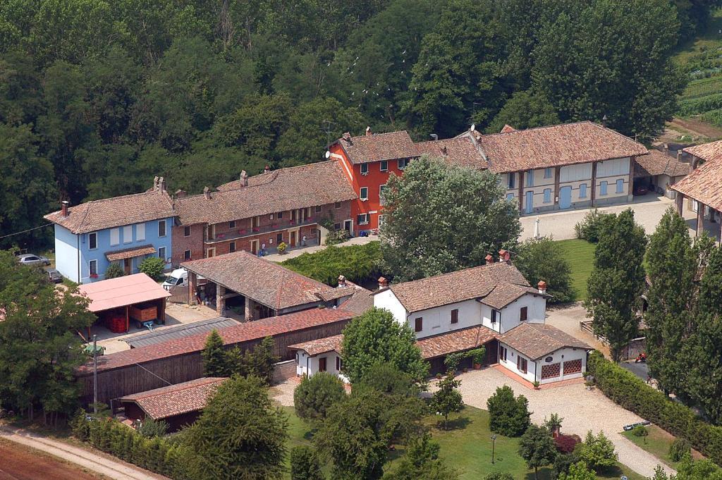 Vista aerea di Agriturismo Cascina Caremma