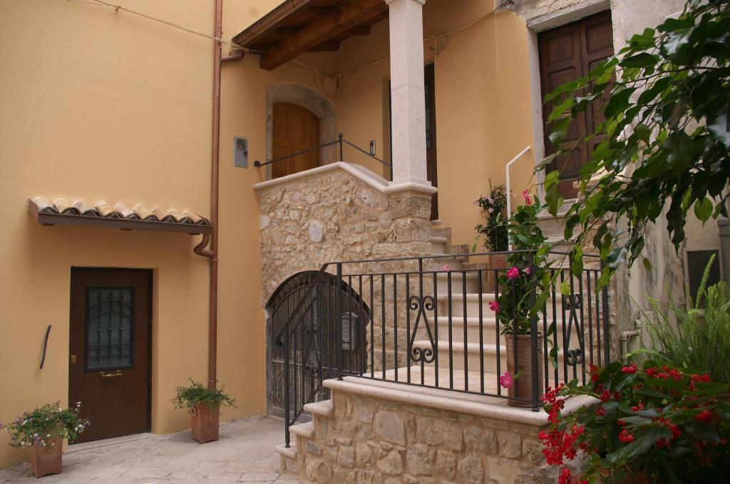 Patio o area all'aperto di B&B Da Conte al Vicoletto