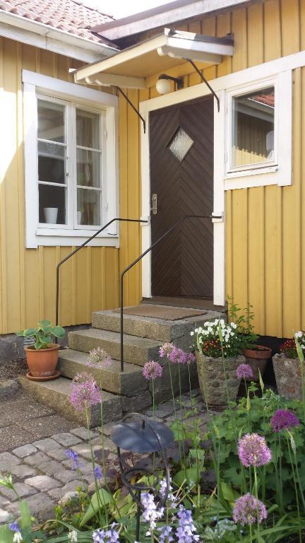 Un patio sau altă zonă în aer liber la Lilla Munkhagen