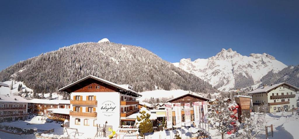 Gut Wenghof - Family Resort Werfenweng during the winter