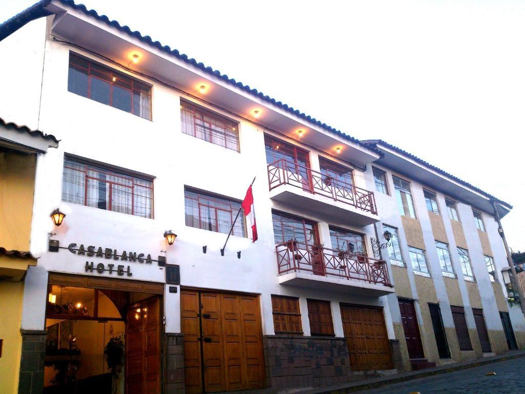 Fachada o entrada de Hotel Casablanca