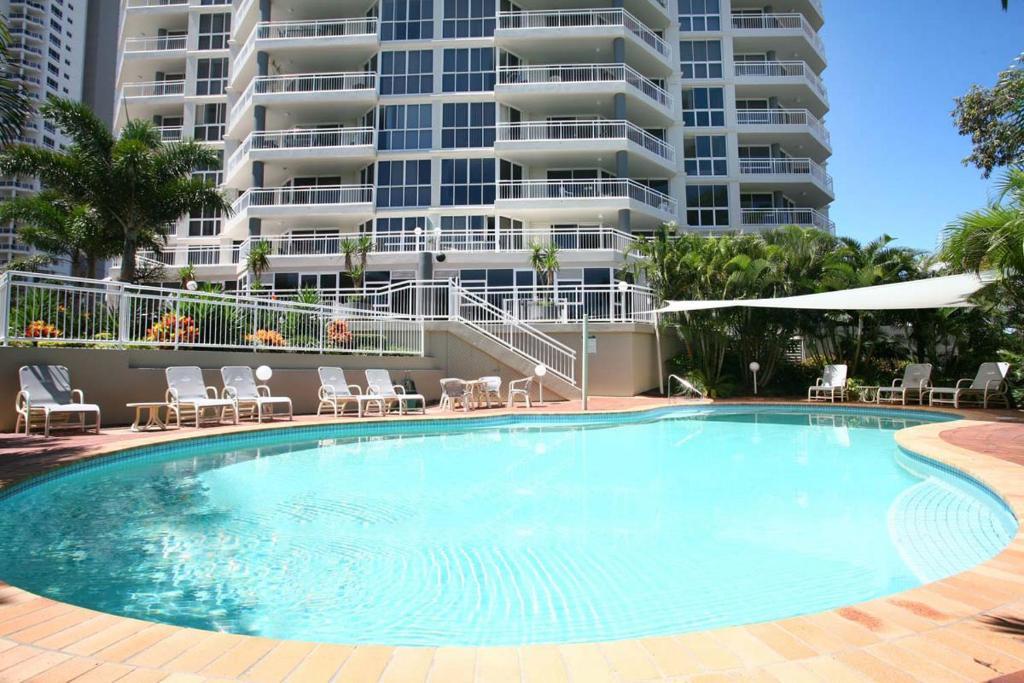 The swimming pool at or near Ocean Sands Resort