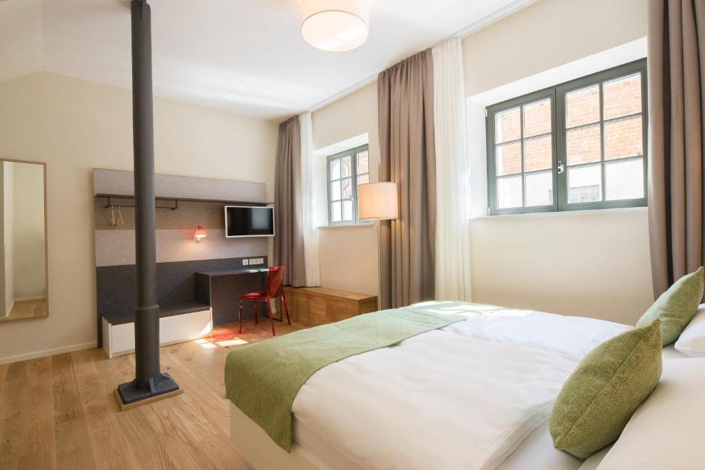 חדר ב-Paulinen Hof Seminarhotel