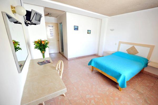 A room at Hotel Rivemar
