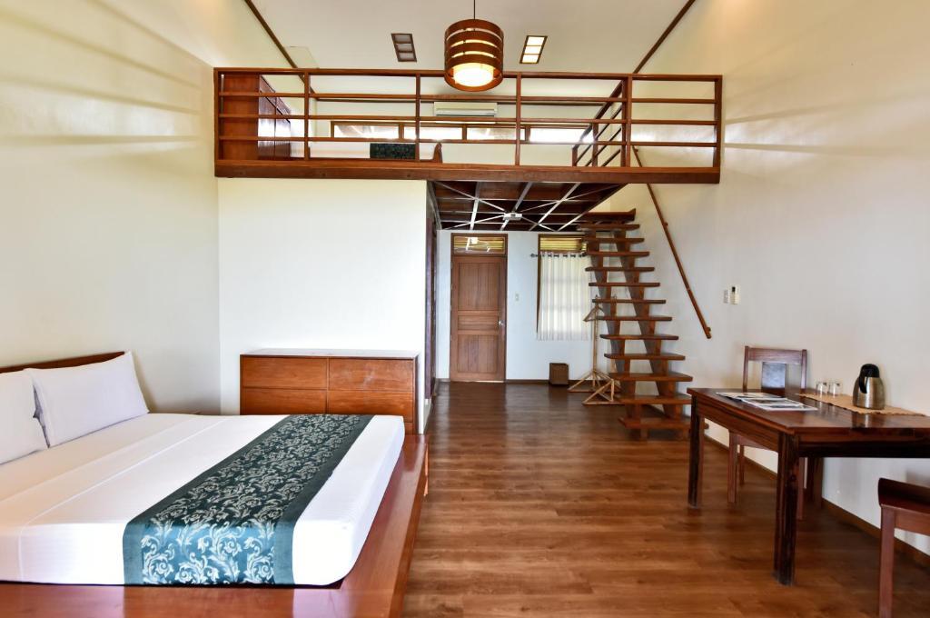 A room at El Nido Cove Resort