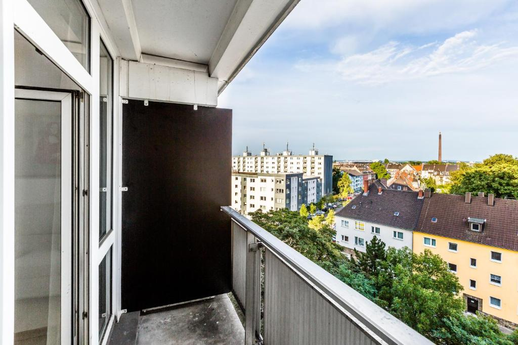A balcony or terrace at Fair Apartments Cologne