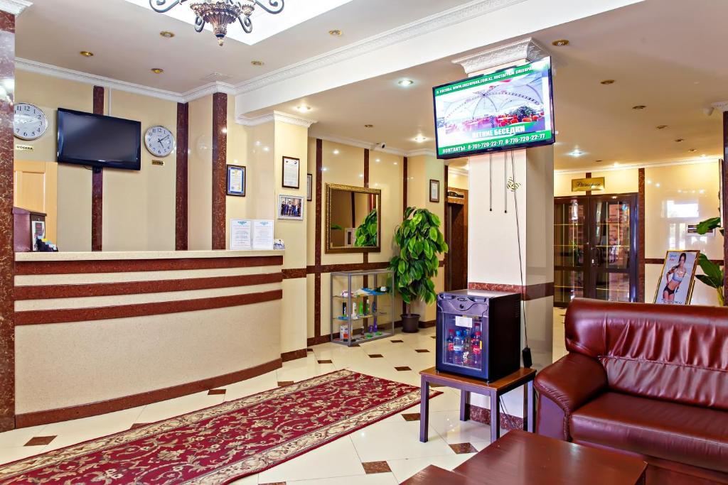 Лаундж или бар в Hotel Akzhaik