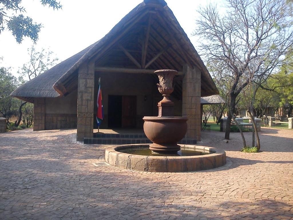 The facade or entrance of Pure Joy Lodge