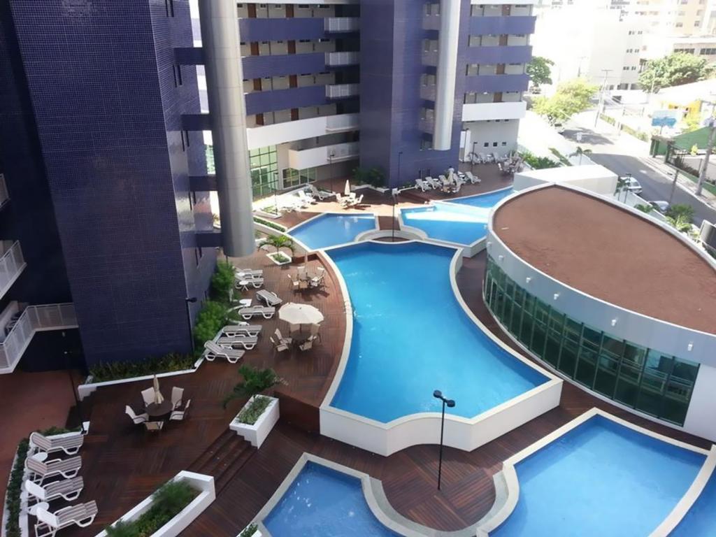 A piscina localizada em Beach Class Residence Service ou nos arredores