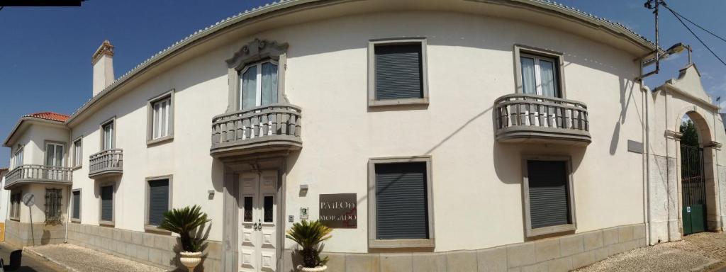 A balcony or terrace at Pateo do Morgado - Turismo de Habitacao