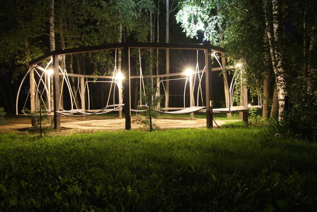 Ein Garten an der Unterkunft Natural Kernavė